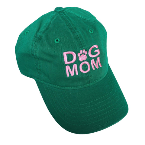 Dog Mom Hat, Kelly Green