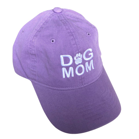 Dog Mom Hat, Lavender