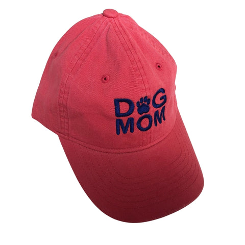 Dog Mom Hat, Newport Red