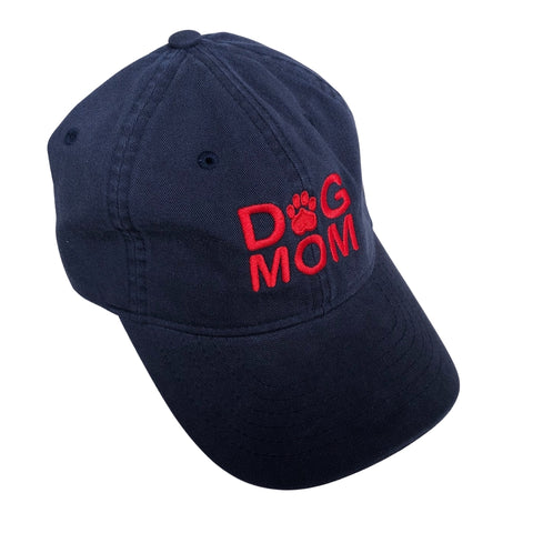 Dog Mom Hat, Navy
