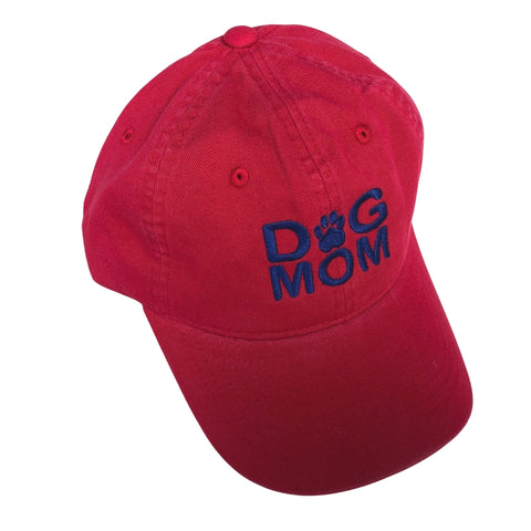 Dog Mom Hat, Red