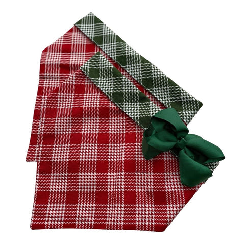 Red/Green Twin Plaid