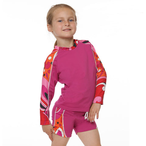 Girls 2 piece sun protective swimsuit by NoZone