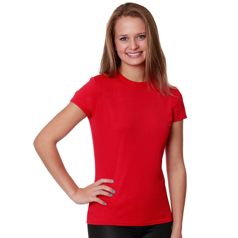 NZ Women's Versa-T Short Sleeved Performance Sun T-Shirt