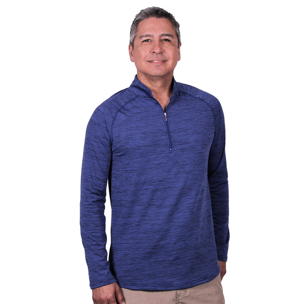 Men's Shasta Long Sleeved Quarter-Zip Shirt