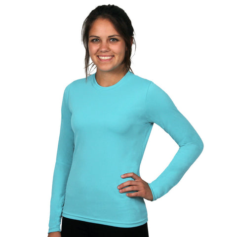 Nozone UPF 50+ Sun safe long sleeved Versa-t - turquoise