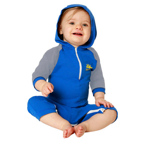 Kailua Hooded Baby Swimsuit