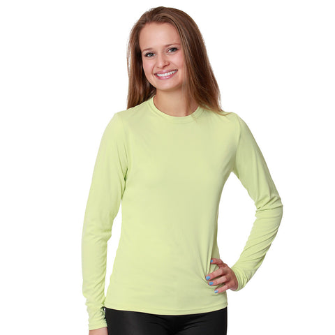 Women's Versa-T Long Sleeve Cool & Dry Sun Protective Performance T-Shirt