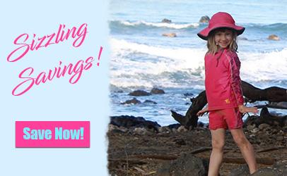 Sale on sun protective family clothing by NoZone