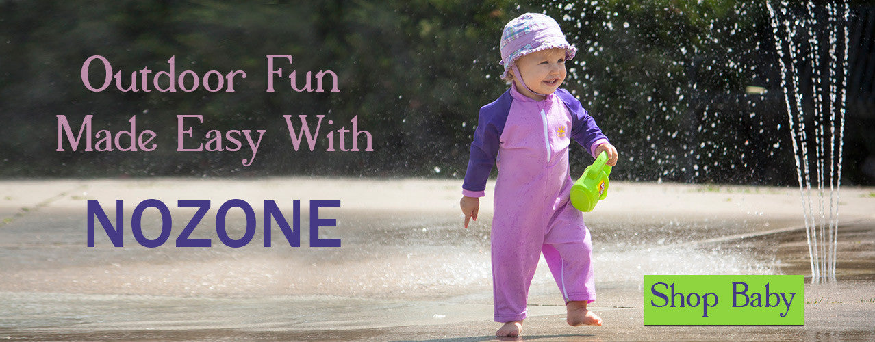 NoZone sun protective clothing for babies