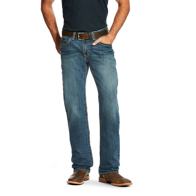 Men's Ariat M3 Loose Boundary Stackable Straight Leg Jean, 10021431