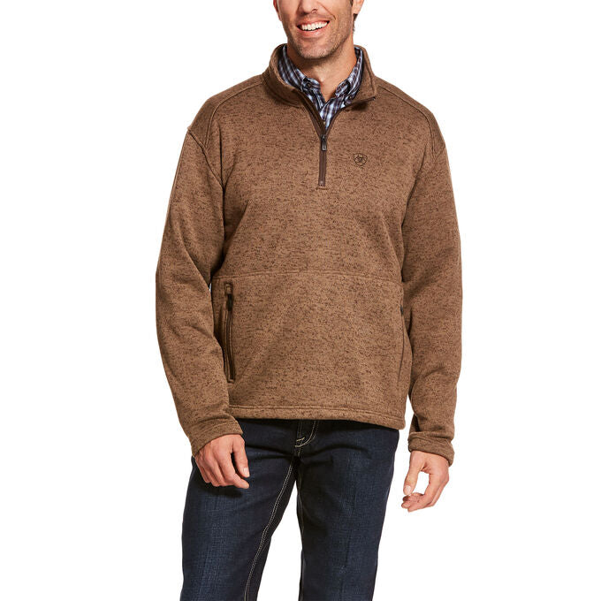 Men's Fossil Caldwell 1/4 Zip Sweater, 10027986