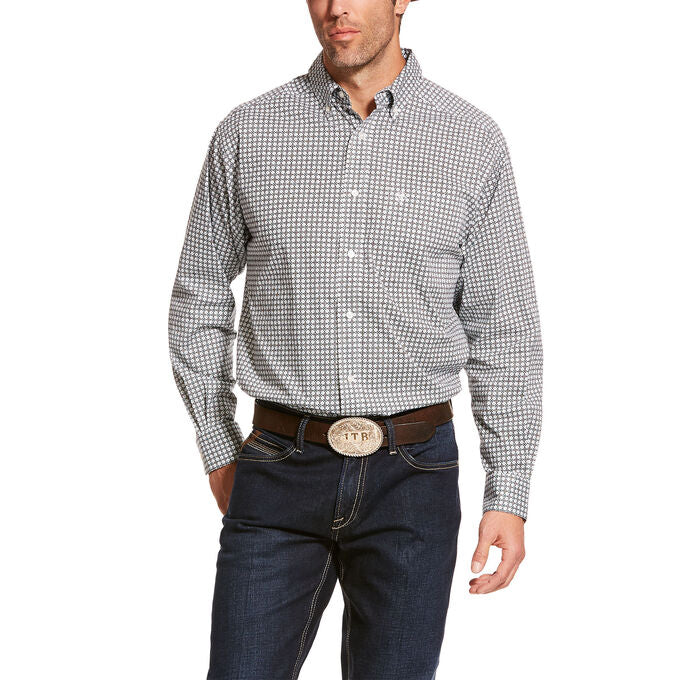 Men's Ariat Burbank Stretch Classic Fit Shirt, 10028817