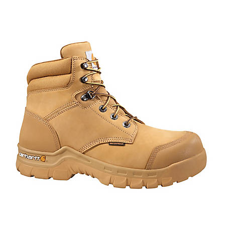 "Men's Carhartt Rugged Flex 6"" Non-Safety Toe Work Boots, CMF6056"