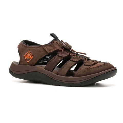 Men's Muck Boot Brown / Orange Wanderer Sandal, MWS - 900