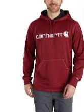 Men's Carhartt Red Heather Extremes Signature Graphic Hoodie, 102314 602