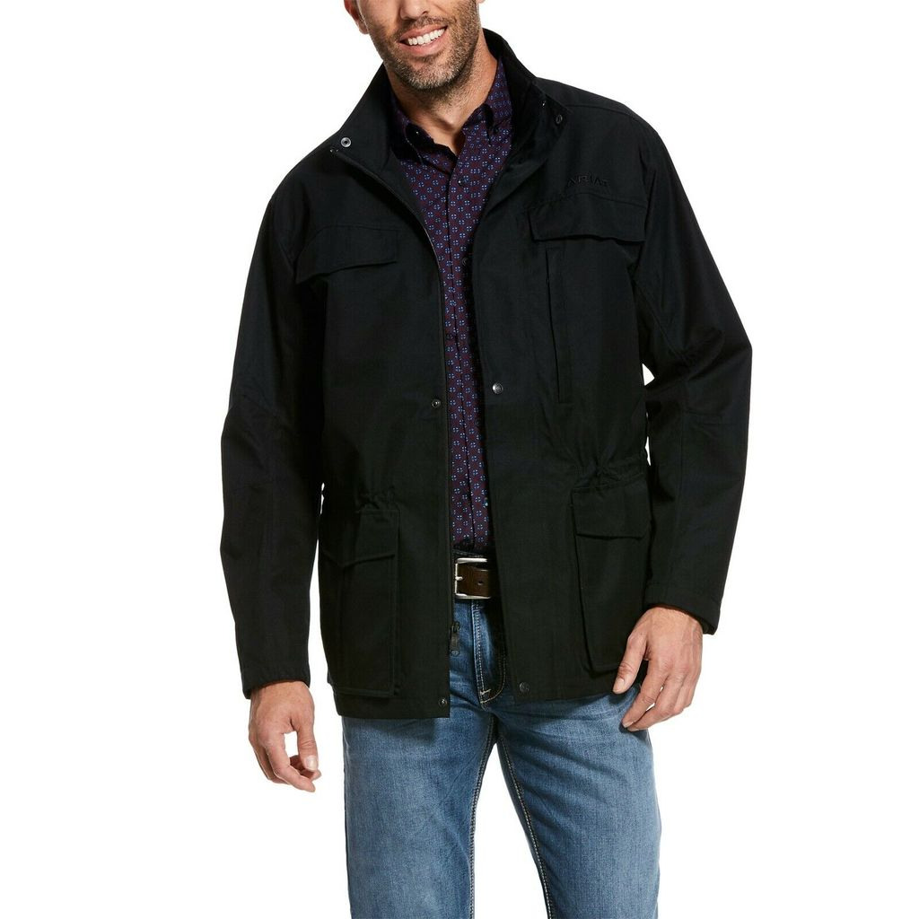 Men's Ariat Black Wyatt Parka, 10028329