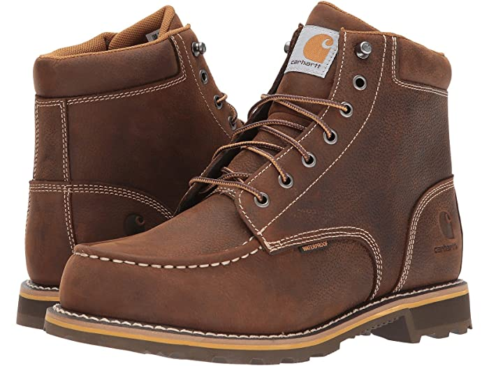 "Men's Carhartt 6"" Non-Safety Toe Work Boots, CMW6197"