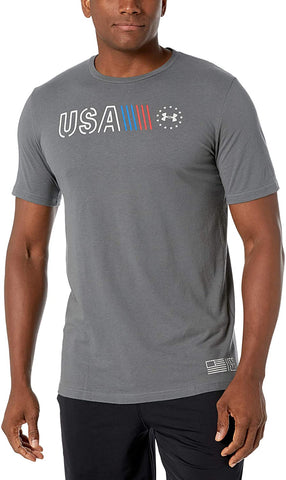 Men's Under Armour Freedom Simple Branded T-Shirt, 1327558 012