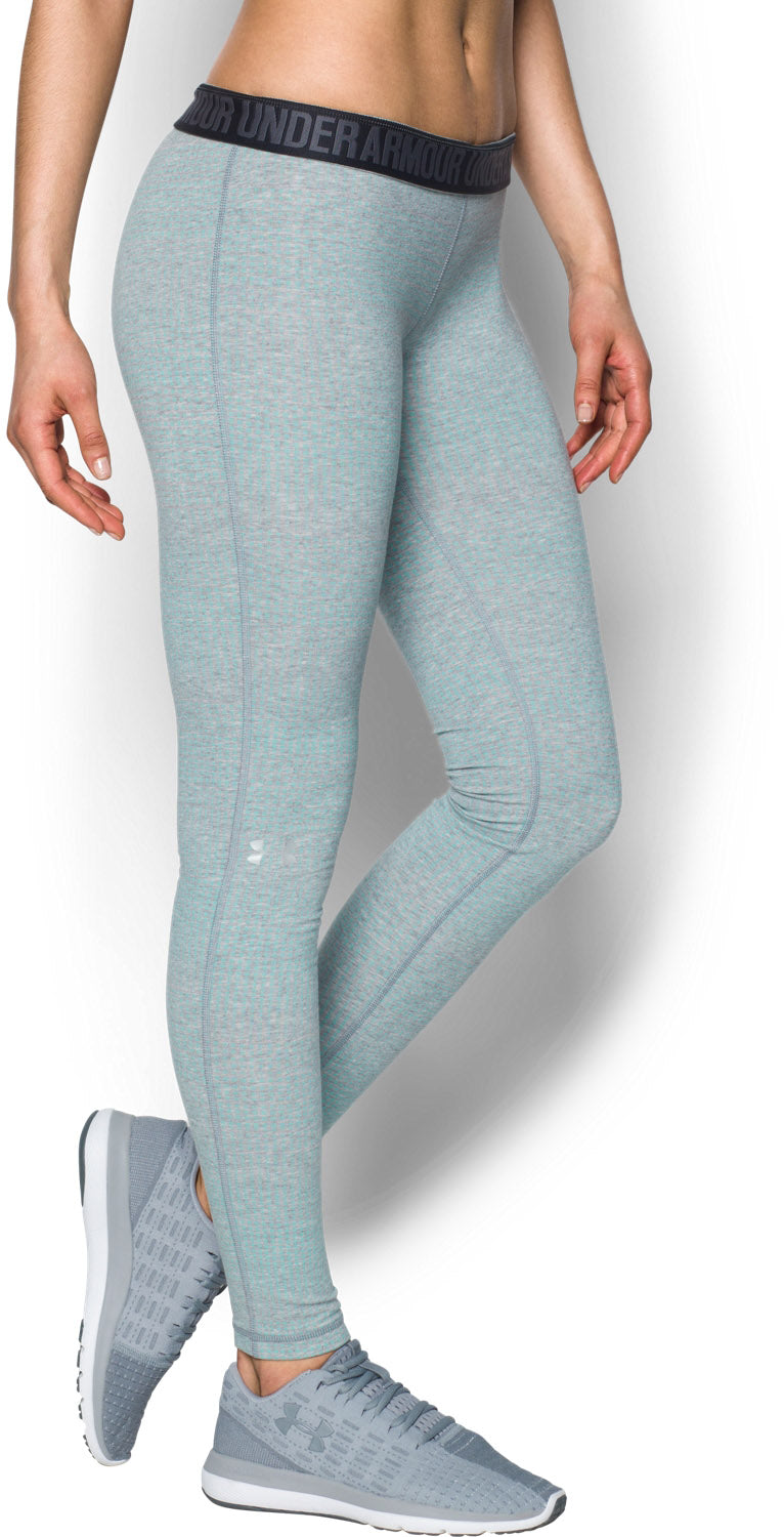 Women's Under Armour Blue Charged Cotton Leggings, 1302968 026