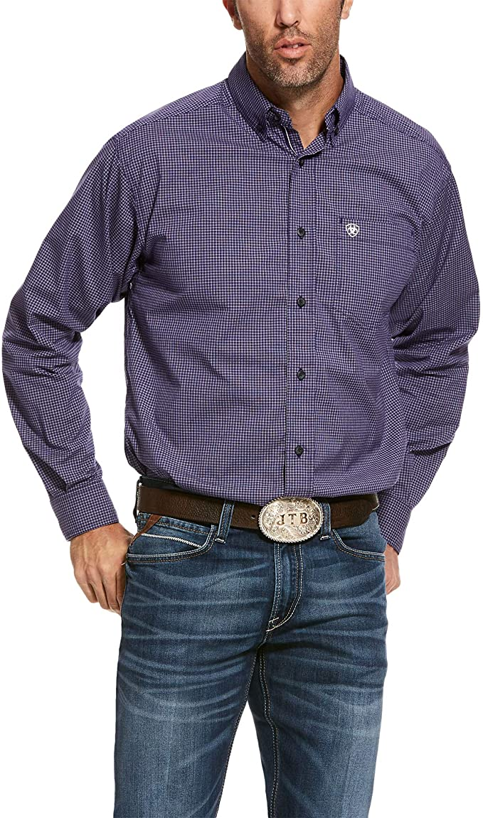 Men's Ariat Shelton Stretch Classic Fit Shirt, 10028191