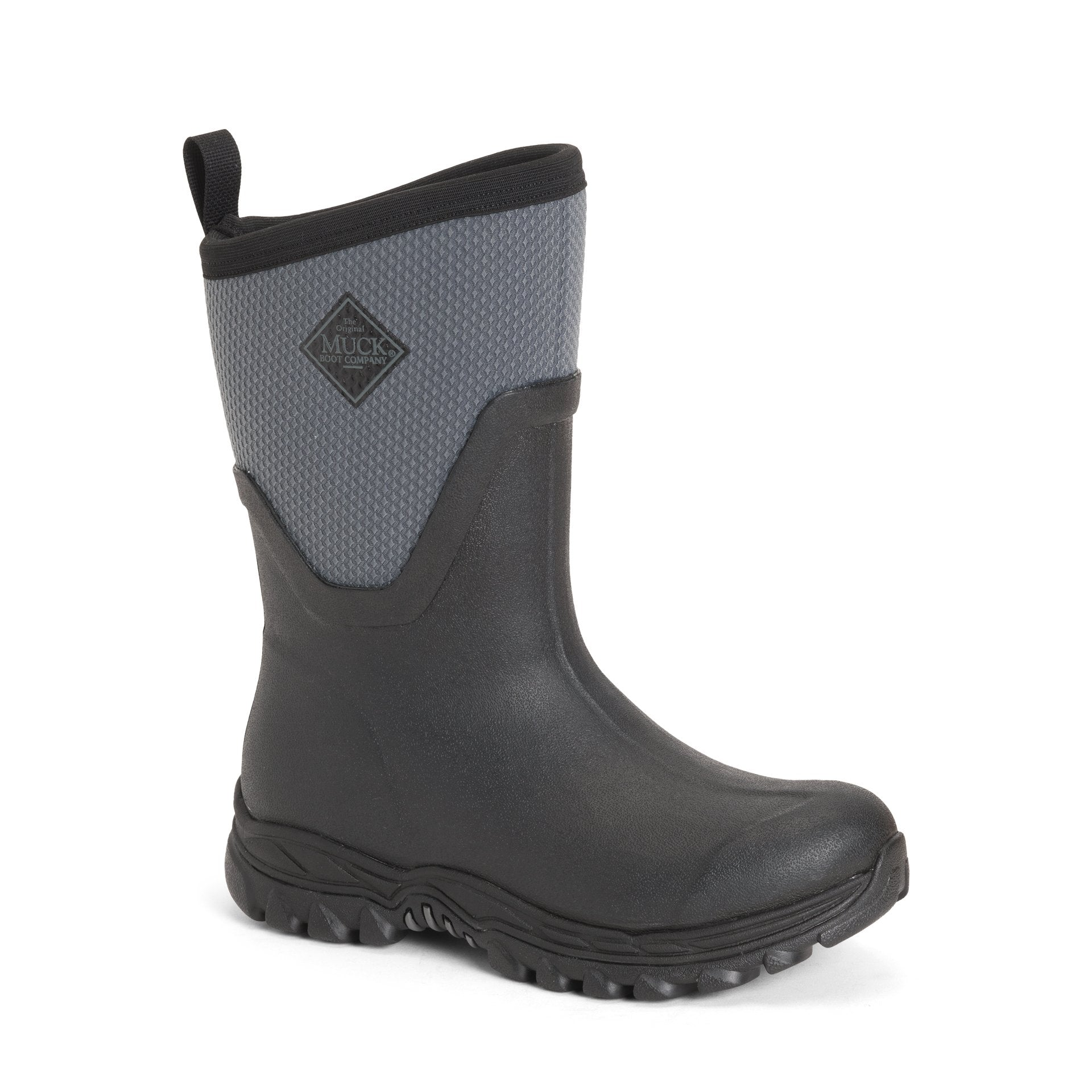 Women's Grey Arctic Sport II Mid Muck Boots, AS2M - 101