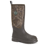 Men's Brown / Mossy Oak Bottomlands Chore Muck Boot, CHH - MOB