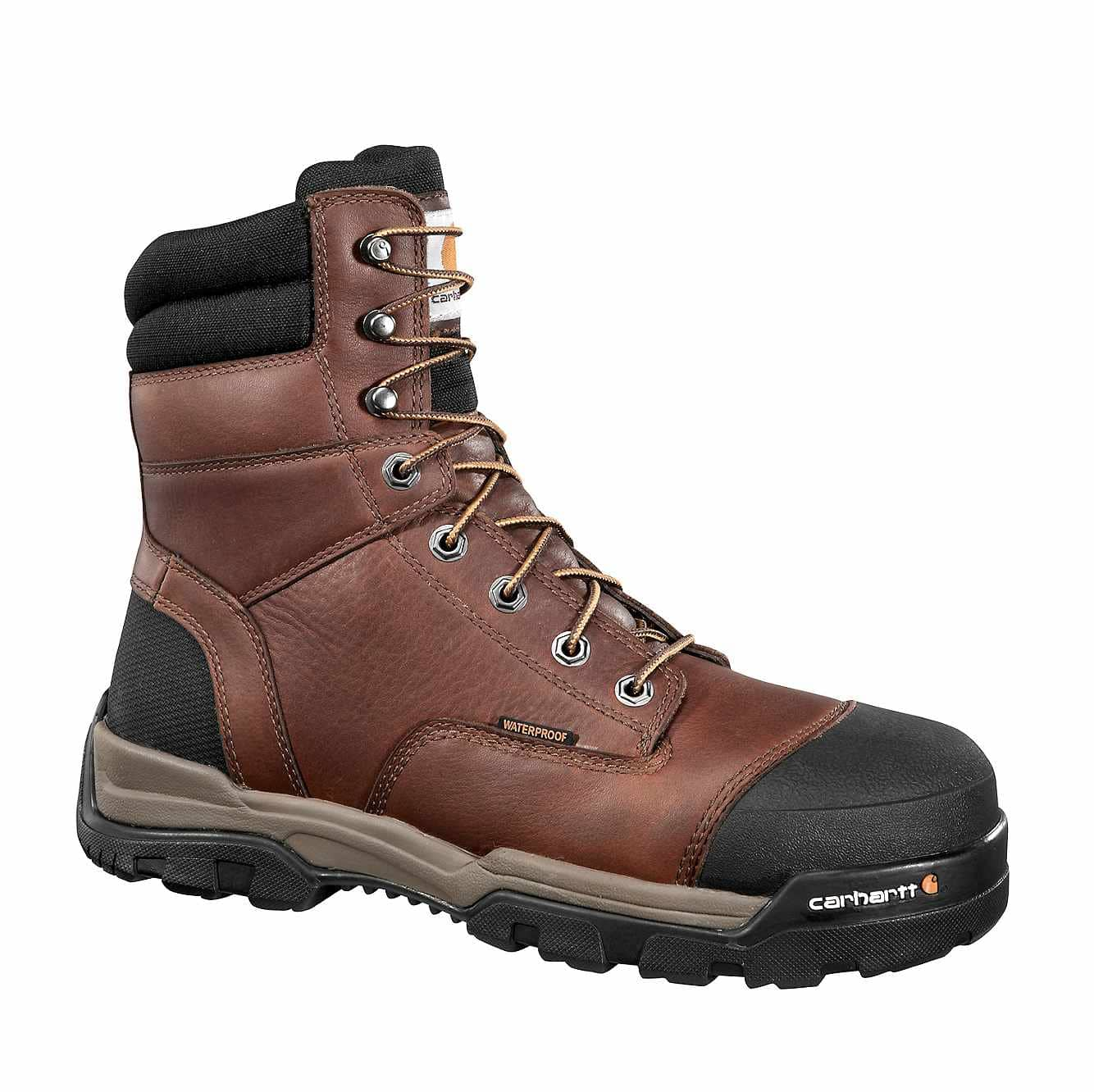 "Men's Carhartt Ground Force 8"" Composite Toe Work Boots, CME8355"