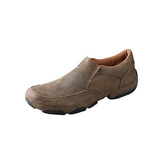 Men's Twisted X Bomber Driving Mocs, MDMS001