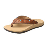 Women's Twisted X Tan / Tooled Sandals, WSD0033