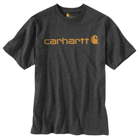 Men's Carhartt Carbon Heather Logo T-Shirt, K195 CRH