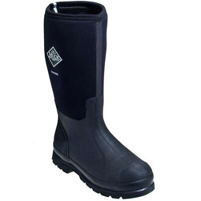 Men's Black Tall Chore Muck Boots, CHH - 000A