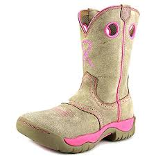 Women's Twisted X Dusty Tan / Pink Boots, WAB0008