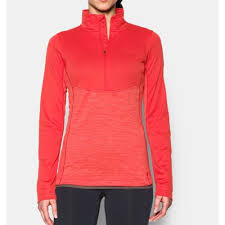 Women's Under Armour Coral Gamutlite 1/2 Zip, 1271595 693