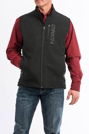 Men's Cinch Black Bonded Jacket, MWV1099008