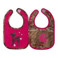 Girl's Carhartt 2-Piece Oh Deer Camo Bib Set, CB9101