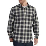 Men's Carhartt Black / Yellow Plaid LS Button Down Shirt, 101754 001