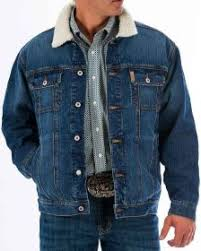 Men's Cinch Denim Concealed Carry Jacket, MWJ1074001