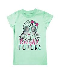 Girl's Farm Girl Blue Bright Future T-Shirt
