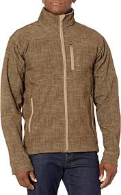 Men's Cinch Brown / Khaki Bonded Concealed Carry Textured Jacket, MWJ1501001