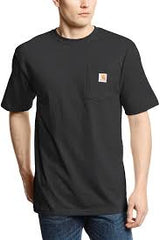 Men's Carhartt Black SS T-Shirt K87 BLK