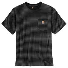 Men's Carhartt Black Stripe SS T-Shirt K87 007