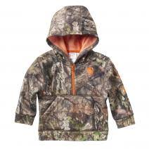 Boy's Carhartt Camo / Orange 1/2 Zip, CA8485 CR01