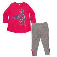Girl's Carhartt Painterly Horse Set, CG9677