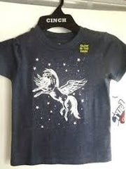 Girl's Cruel Girl Navy Glow in the Dark Pegasus Shirt, CTT6851016