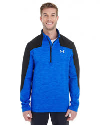 Men's Under Armour Royal Blue / Black Expanse 1/4 Zip Pullover, 1259550 907