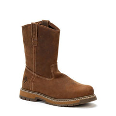Men's Brown Wellie Work Muck Boot, LTH - 904W