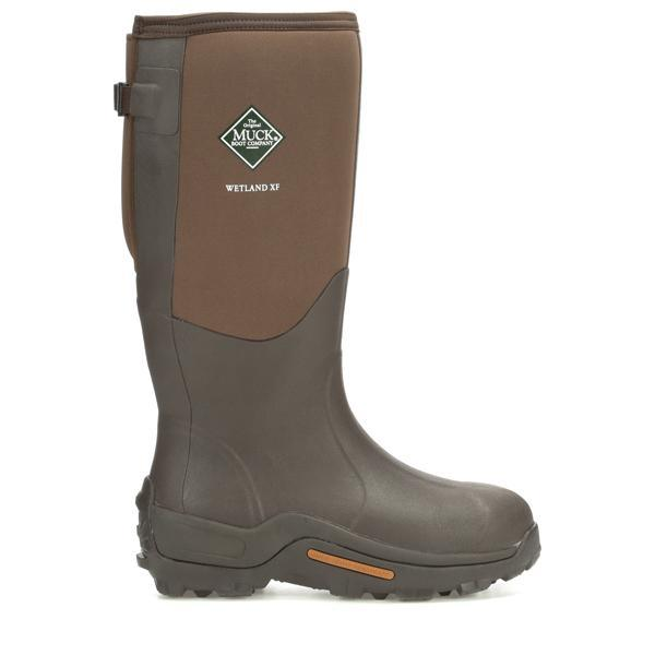 Men's Brown Wetland Muck Boots, MWET - 900