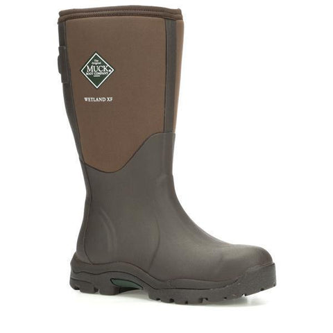 Women's Brown Wetland Muck Boots, WWET - 900