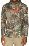 Men's Under Armour Tech Terry RealTree Edge Hunting Hoodie, 1325603 991